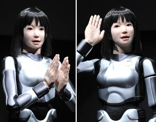Humanoid robot fetish now for