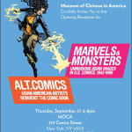 Opening Reception for MOCA's Marvels and Monsters and Alt.Comics Exhibits