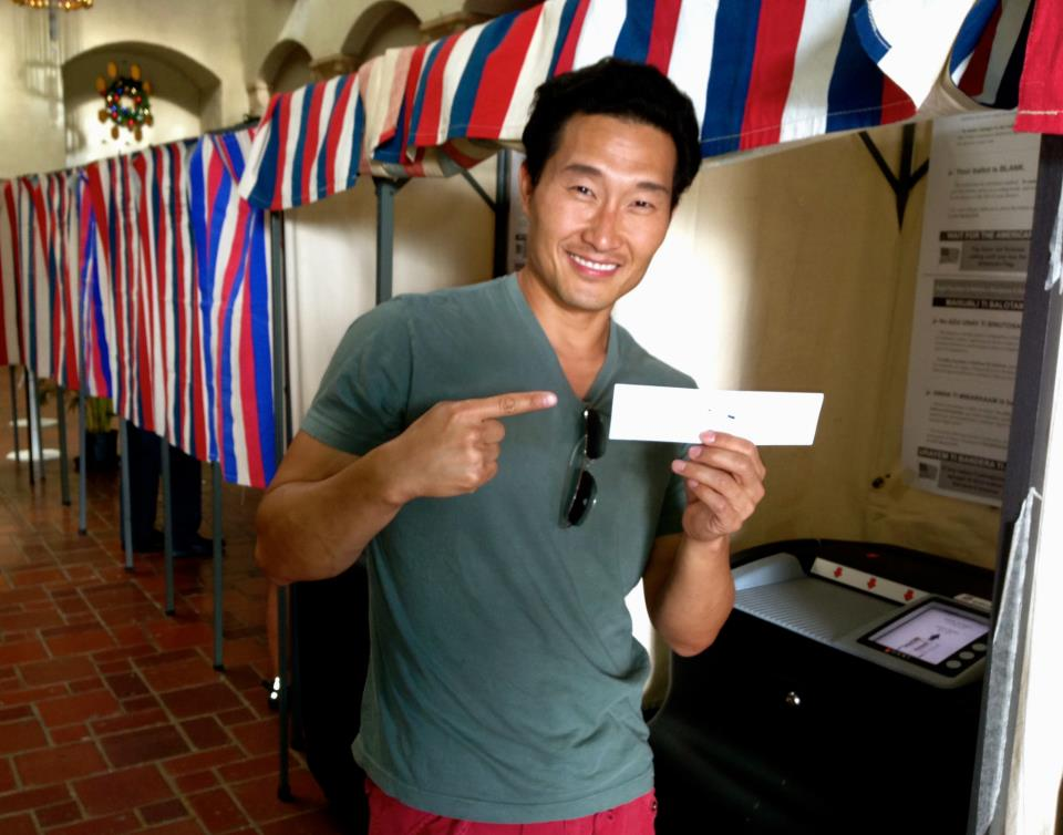 Daniel Dae Kim is the coolest celebrity on the planet.