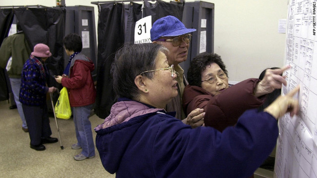 Asian American voters (CNN).