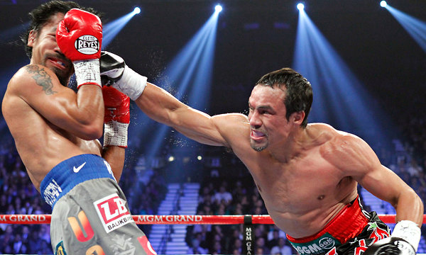 This may be the punch that ended the Pacquiao reign.