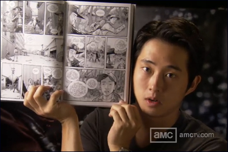 "Steve Yuen portrays Glenn, the charismatic survivor of ""The Walking Dead""."