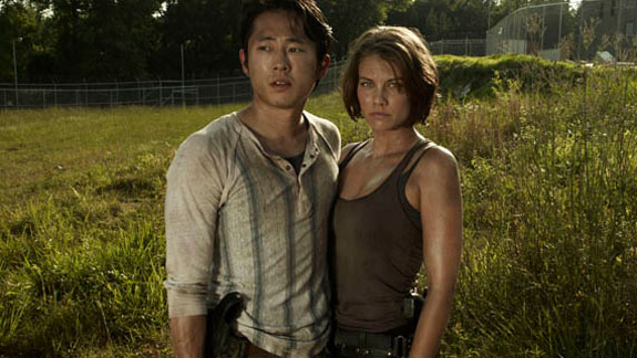 The budding relationship between Glenn and Maggie has served to emotional ground the show in the face of otherwise incredible immorality and horror.