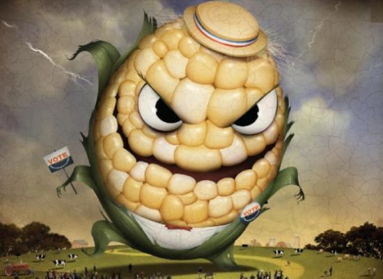 And I'm pretty sure there's no interest in generating an ear of corn with evil eyes and a toothy grin.