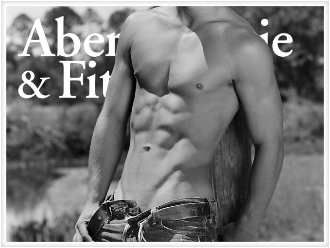 Hey guys, Abercrombie & Fitch is being offensive again. And, it's still not because they have yet to invent a belt that fits their male models.