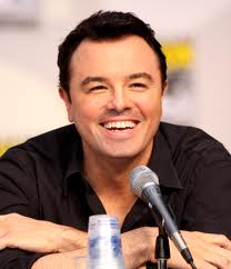 Seth MacFarlane wants our attention.