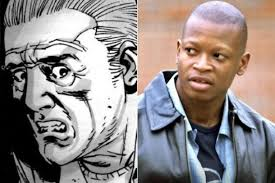 Bob Stookey as he appears in the comics (left) and in the show (right).