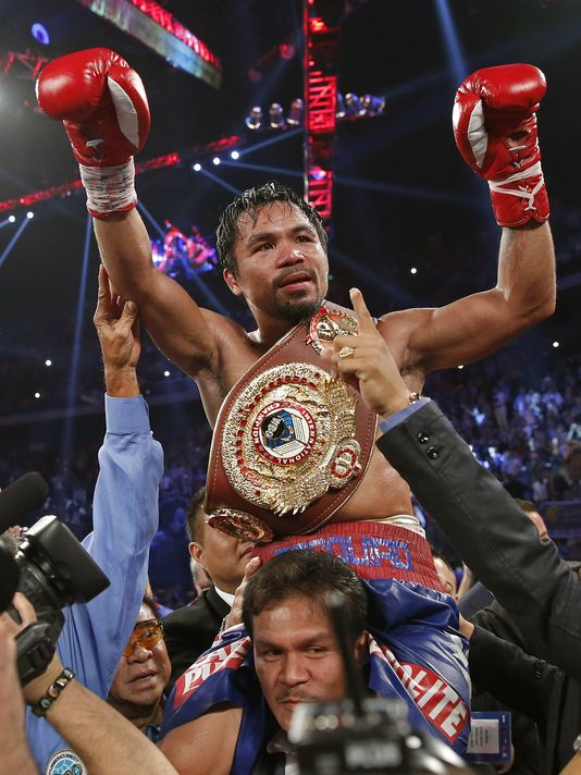 "Last night, Pacquiao scored his first boxing victory in 2 years, solidifying a new nickname ""Comeback Pac""."