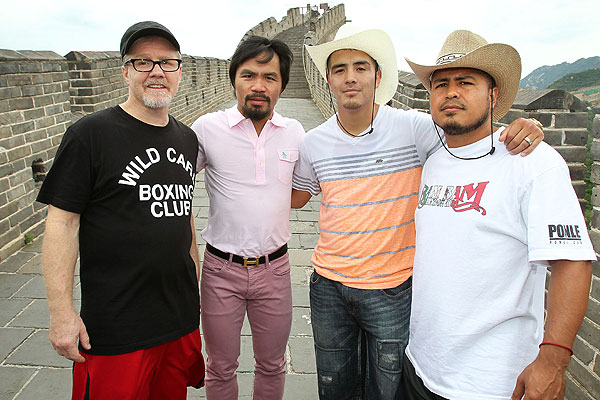 "This decidedly intercultural, if a little ""Odd Couple"" promotional tour was the face of Pacquiao-Rios in the weeks leading up to the fight."