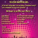 Are you an Asian American Millenial and in Southern CA, and do you want to be on TV?