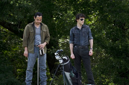 It's either that or the Governor REALLY hates to play golf.