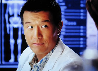 Brian Yang plays Charlie Fong. In my defense, I WOULD recognize him now.