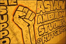One of the lasting campaigns to come out of the Asian American Movement of the 1960's and 1970's is the fight for Asian American Studies. This mural is at Rutgers University.