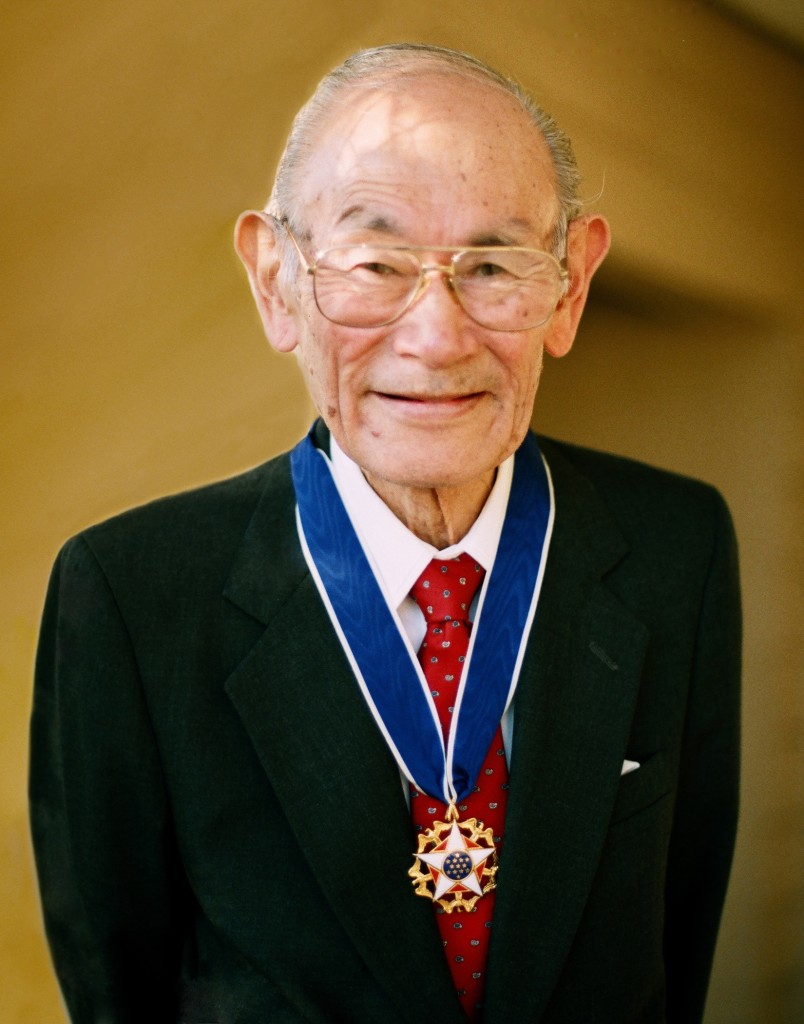 Fred Korematsu, who was awarded the Presidential Medal of Freedom in 1998.