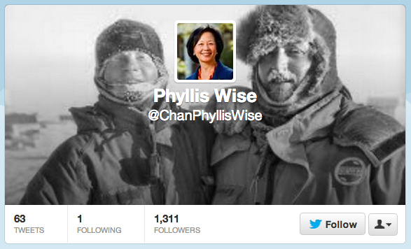 A fake account created over the weekend and used to tweet racist and sexist tweets targeting Chancellor Phyllis Wise immediately garnered over a thousand followers.