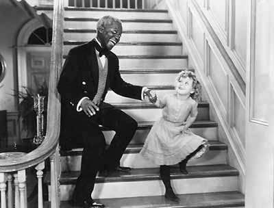 "Bill ""Bojangles"" Robinson and Shirley Temple in ""The Little Colonel"" (1935)"