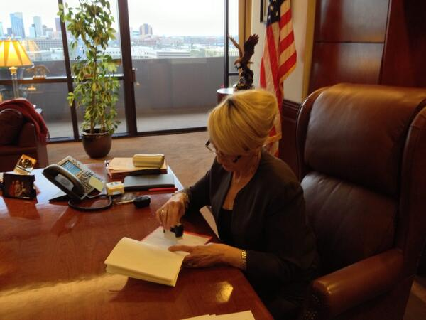 Governor Brewer vetoes SB1062.