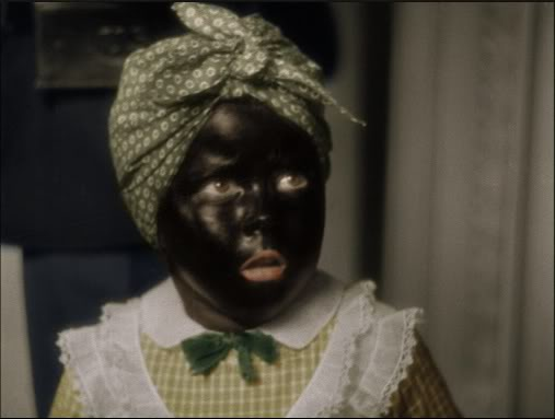 "Shirley Temple in Blackface, from ""The Littlest Rebel"" (1935)."