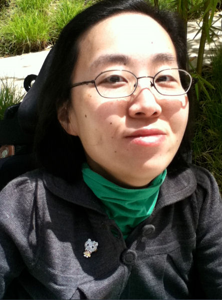 Alice Wong is a proud disabled woman.