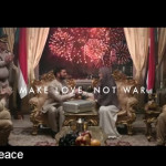 The problem with that Axe #KissForPeace Superbowl ad