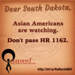 Sign petition now to urge South Dakota governor to veto racist anti-abortion bill!