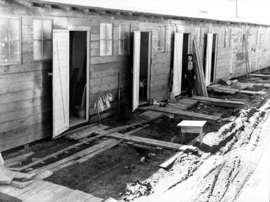 a look at the japanese internment camps in the 1940s in us