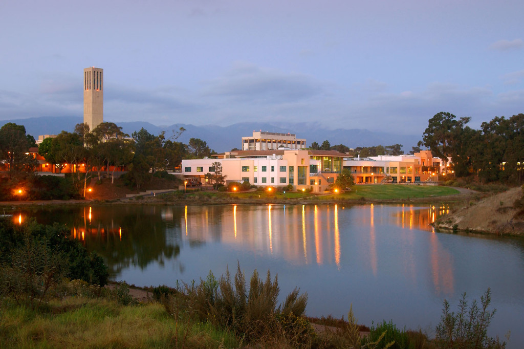 The UCSB campus (photo credit AASHE.org)