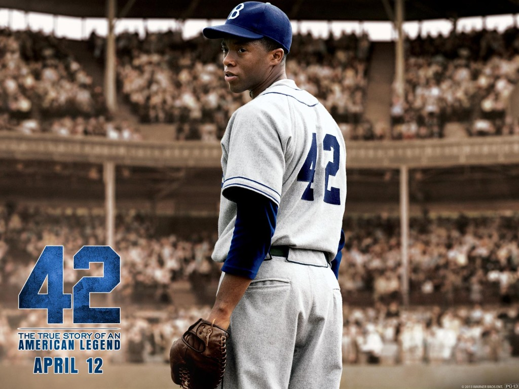 "I don't think ""42"" was a great film, but it was certainly ""Oscar-bait"". But, because of its timing, its subject matter, or a lack of campaigning on the part of its studio, this film was largely excluded from Oscar buzz."