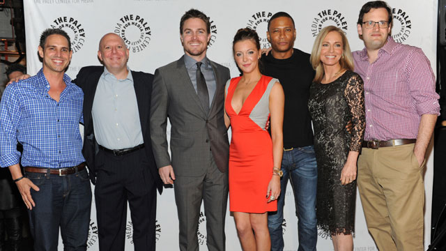 "The ""multi-racial"" cast of Arrow we should be celebrating."