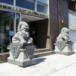 Vandal attacks Chinese lion statues outside Chinese-American Museum of Chicago