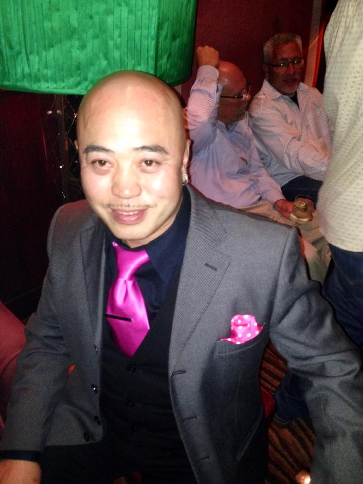 "This appears to be an image of Raymond ""Shrimp Boy"" Chow based on his Facebook page."