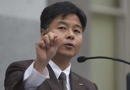 Representative Ted Lieu, who represents California's 28th Senate District. (Photo credit: Sacramento Bee.)