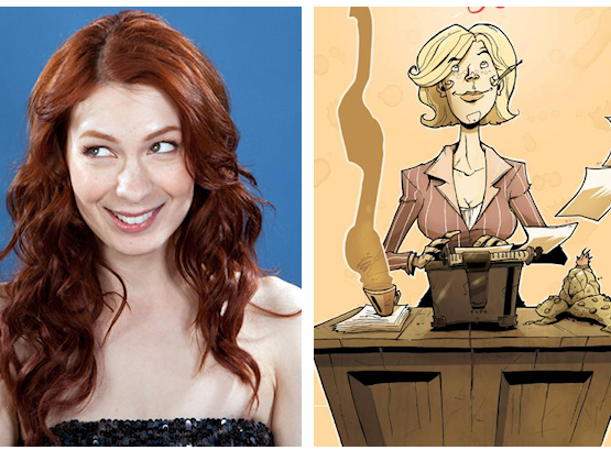 Felicia Day has been cast to voice the role of Amelia Mintz.