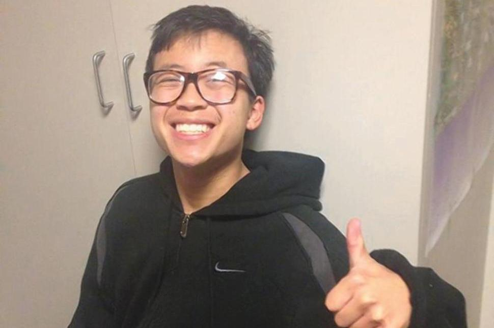 "George  Chen was a Canadian from Ottawa -- a ""gentle soul"" who graduated from Leland High in San Jose, California. He was at UCSB studying computer science. He was 19. (Photo credit: NY Daily News)"