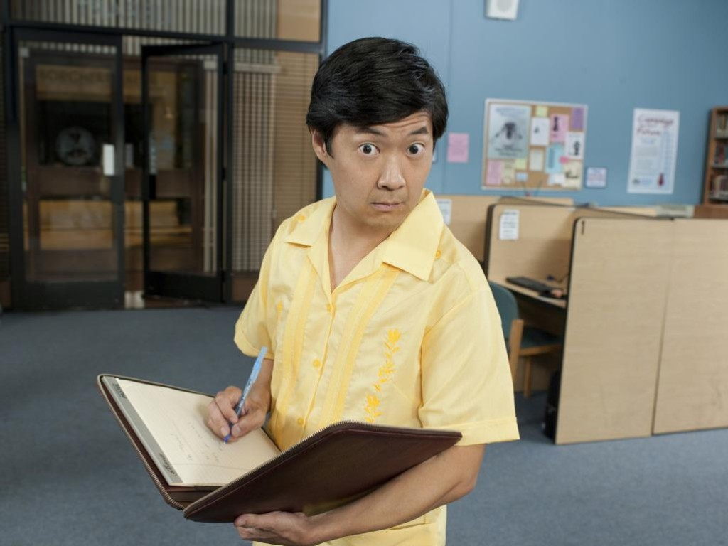 Ken Jeong as Senor Chang on Community.