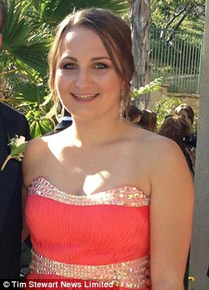 "Veronica Weiss was a freshman, an avid water polo player, and a member of the Delta Delta Delta sorority. Her father remembers ""she was making straight As. She was making friends. She was studying like a maniac and loving every minute of it."" (Photo credit: The Daily Mail)"