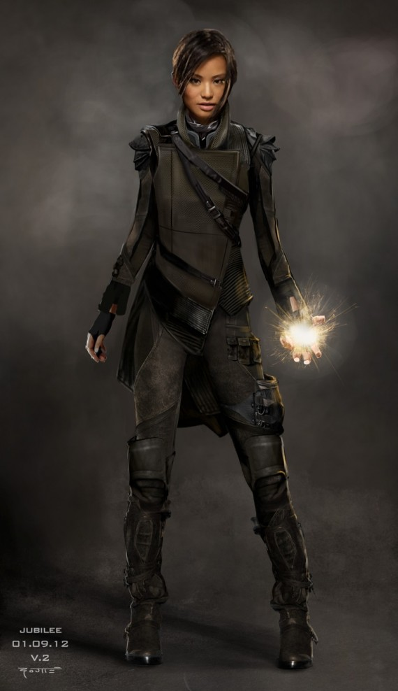 Another version of Jubilee concept art from 'X-Men: Days of Future Past'.