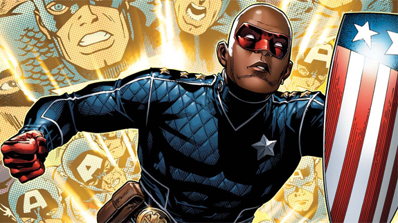 ... or this? (This is Patriot, grandson to the first Captain America, and founding member of Young Avengers).