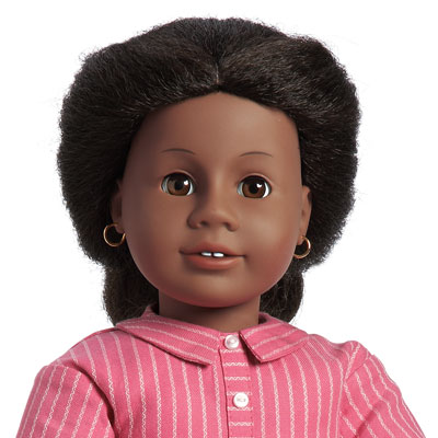 American Girl's first African American doll was Addy Walker, a fugitive slave.