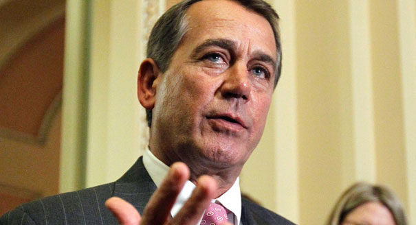 "John Boehner is making a ""Boehn""-headed move."