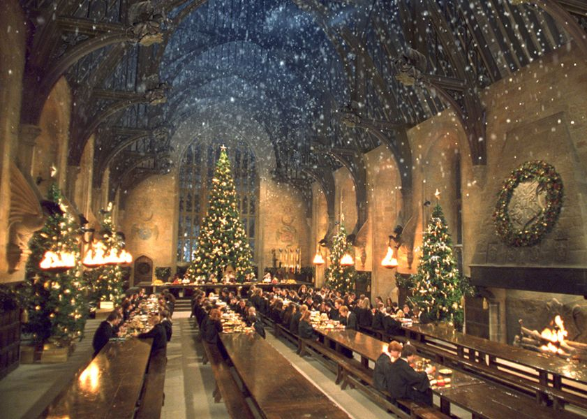 Hogwarts is not a real place. You can tell because it snows on the inside.