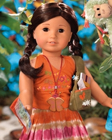 Jess McConnell was a limited edition Girl of the Year doll, no longer available for purchase. She was biracially Japanese American.