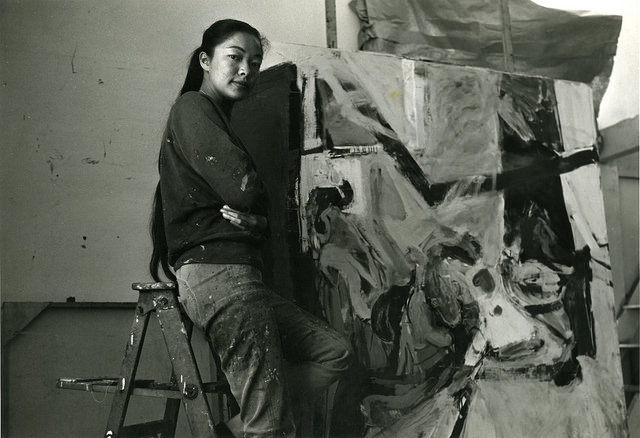 Pioneering artist and community activist, Bernice Bing.