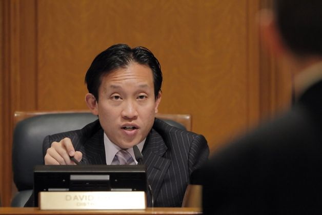 San Francisco Supervisor, David Chiu.