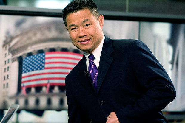 John Liu during his term as City Comptroller. (Photo credit: Jonathan Fickies / Bloomberg)