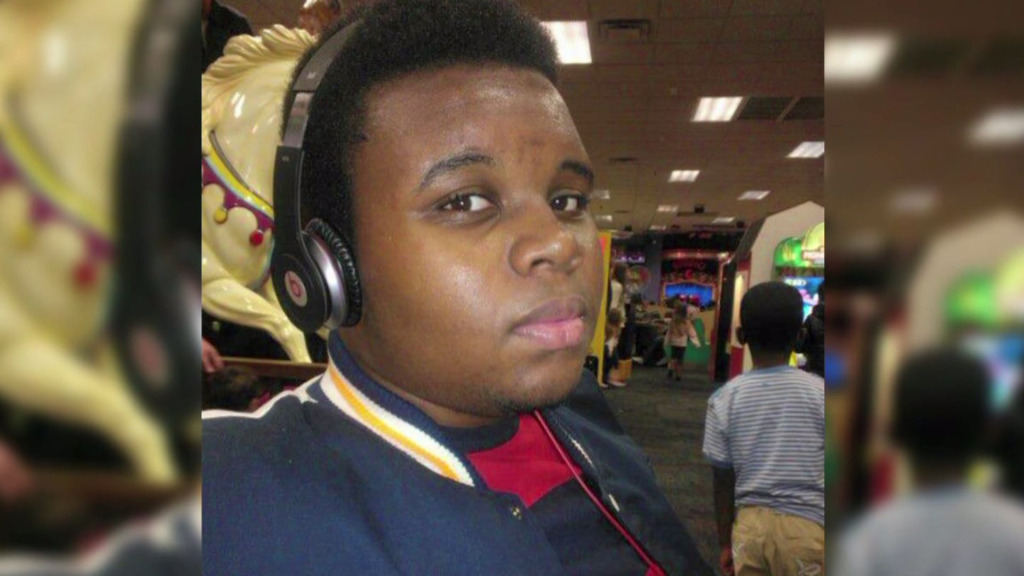 Unarmed teenager Mike Brown, who was shot to death by Ferguson police officer Darren Wilson in Missouri last month.