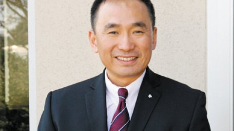 Republican and California State Senate candidate, Peter Kuo.