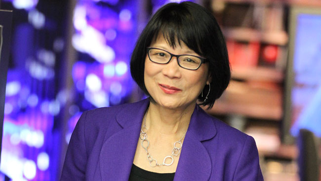 Toronto mayoral candidate, Olivia Chow.