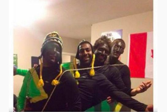 Students at Canada's Brock University dressed in blackface.