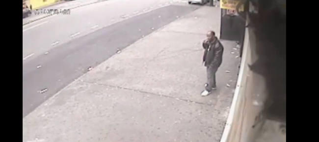 A suspect sought for questioning in the shoving death of 61-year-old Wai Kuen Kwok in the Bronx on Sunday morning.